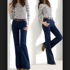 Madewell Widelegger Dark Blue Jeans Size 25